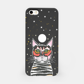Thumbnail image of Moon Cat iPhone Case, Live Heroes