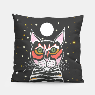 Thumbnail image of Moon Cat Pillow, Live Heroes