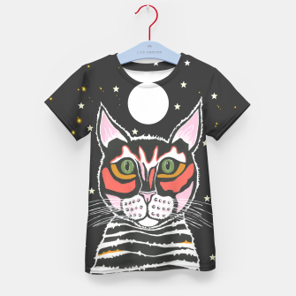 Thumbnail image of Moon Cat Kid's t-shirt, Live Heroes