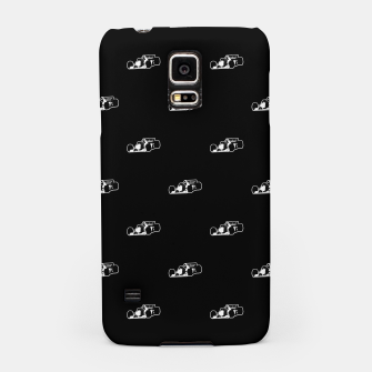 Thumbnail image of Formula One Black and White Graphic Pattern Samsung Case, Live Heroes