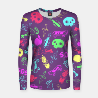 Miniatur Cool Stuff Color Women sweater, Live Heroes
