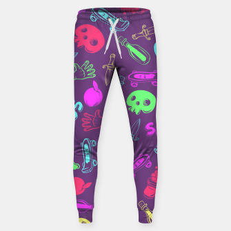Miniatur Cool Stuff Color Sweatpants, Live Heroes