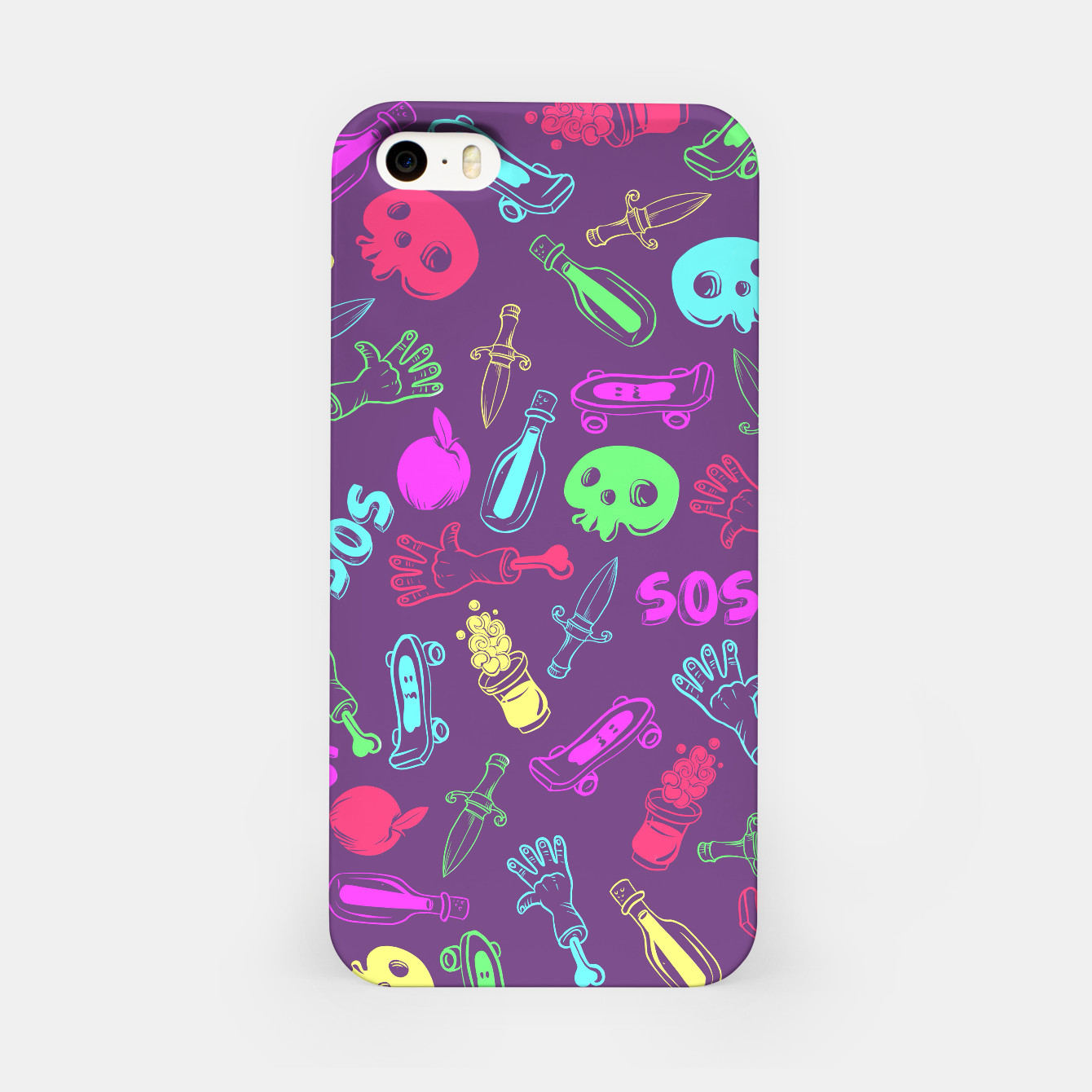 Foto Cool Stuff Color iPhone Case - Live Heroes
