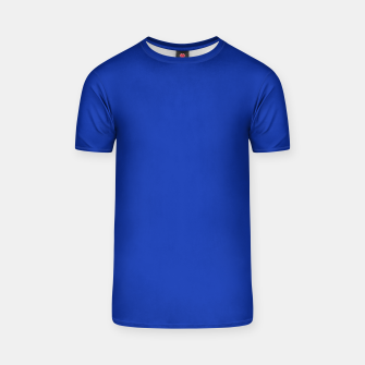 Thumbnail image of color Egyptian blue T-shirt, Live Heroes