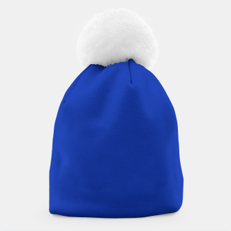 Thumbnail image of color Egyptian blue Beanie, Live Heroes