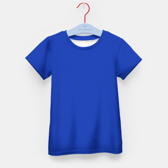 Thumbnail image of color Egyptian blue Kid's t-shirt, Live Heroes