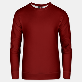 Thumbnail image of color blood red Unisex sweater, Live Heroes