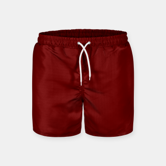 Thumbnail image of color blood red Swim Shorts, Live Heroes