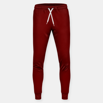Thumbnail image of color blood red Sweatpants, Live Heroes