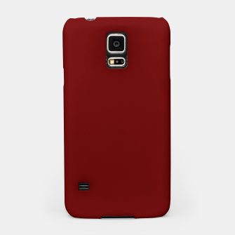 Thumbnail image of color blood red Samsung Case, Live Heroes