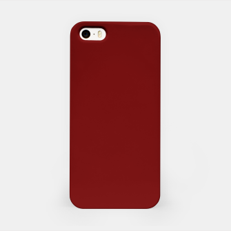 Thumbnail image of color blood red iPhone Case, Live Heroes