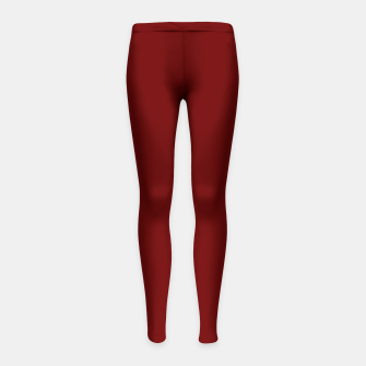 Miniaturka color blood red Girl's leggings, Live Heroes