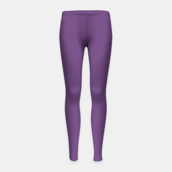 Imagen en miniatura de color purple 3515U Girl's leggings, Live Heroes