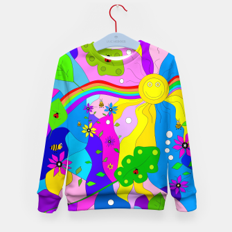 Thumbnail image of Flamboyant Nature Kid's sweater, Live Heroes