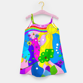 Thumbnail image of Flamboyant Nature Girl's dress, Live Heroes