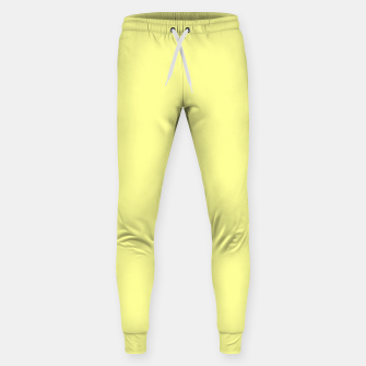 Miniaturka color canary yellow Sweatpants, Live Heroes