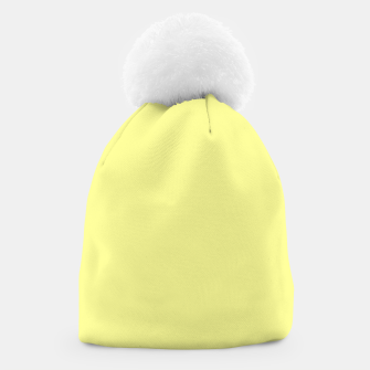 Miniaturka color canary yellow Beanie, Live Heroes