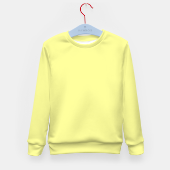 Miniaturka color canary yellow Kid's sweater, Live Heroes