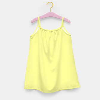 Miniaturka color canary yellow Girl's dress, Live Heroes