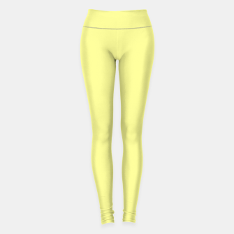Miniaturka color canary yellow Leggings, Live Heroes