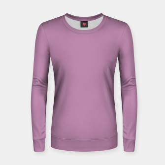 Thumbnail image of color mauve Women sweater, Live Heroes