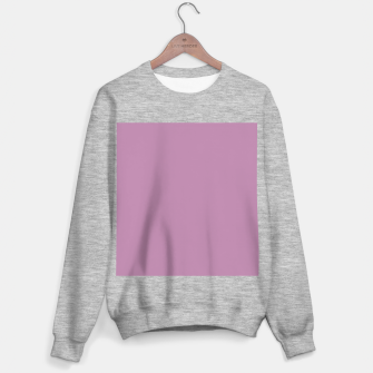 Thumbnail image of color mauve Sweater regular, Live Heroes