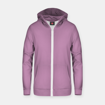 Thumbnail image of color mauve Zip up hoodie, Live Heroes
