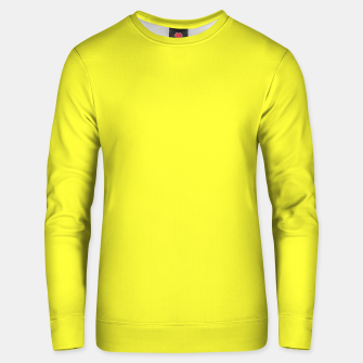 Miniaturka color maximum yellow Unisex sweater, Live Heroes