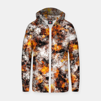 Thumbnail image of Thermal Zip up hoodie, Live Heroes