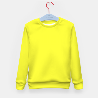 Miniaturka color maximum yellow Kid's sweater, Live Heroes