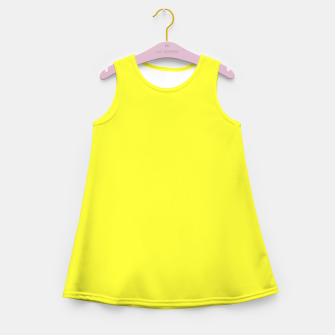 Thumbnail image of color maximum yellow Girl's summer dress, Live Heroes