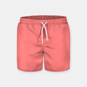 Miniaturka color light red Swim Shorts, Live Heroes