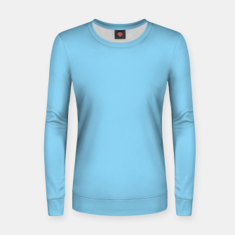 Thumbnail image of color baby blue Women sweater, Live Heroes
