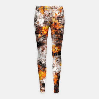 Thumbnail image of Thermal Girl's leggings, Live Heroes
