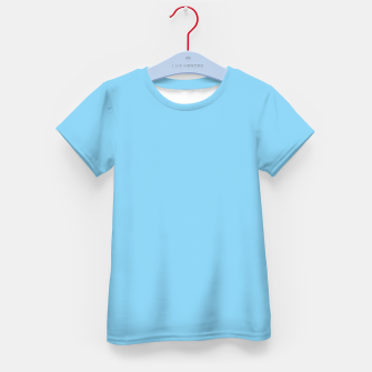 Thumbnail image of color baby blue Kid's t-shirt, Live Heroes