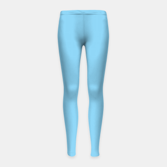 Thumbnail image of color baby blue Girl's leggings, Live Heroes
