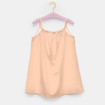 Miniatur color apricot Girl's dress, Live Heroes