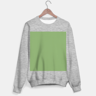 Thumbnail image of color asparagus Sweater regular, Live Heroes