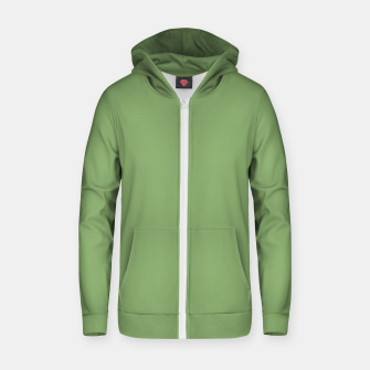 Thumbnail image of color asparagus Zip up hoodie, Live Heroes