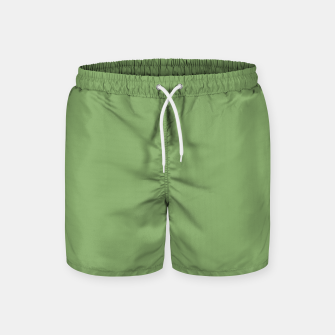 Thumbnail image of color asparagus Swim Shorts, Live Heroes