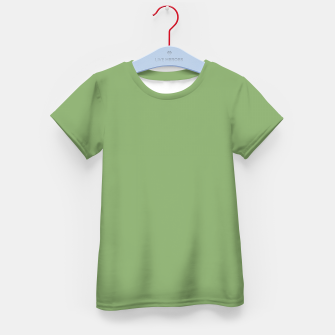 Thumbnail image of color asparagus Kid's t-shirt, Live Heroes