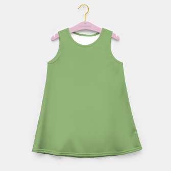 Thumbnail image of color asparagus Girl's summer dress, Live Heroes