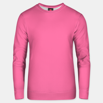 Miniatur color French pink Unisex sweater, Live Heroes