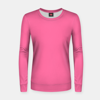Miniatur color French pink Women sweater, Live Heroes