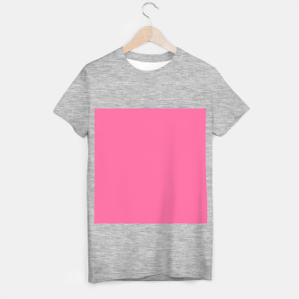 Miniatur color French pink T-shirt regular, Live Heroes