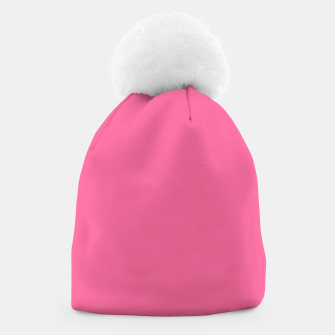 Miniatur color French pink Beanie, Live Heroes