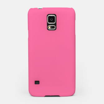 Miniatur color French pink Samsung Case, Live Heroes