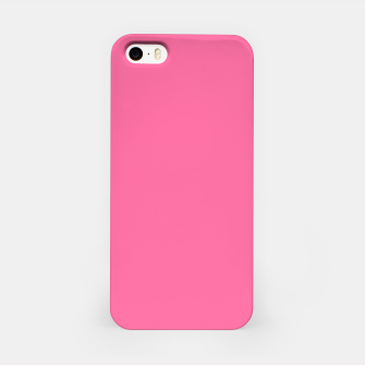 Miniatur color French pink iPhone Case, Live Heroes