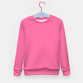 Miniatur color French pink Kid's sweater, Live Heroes
