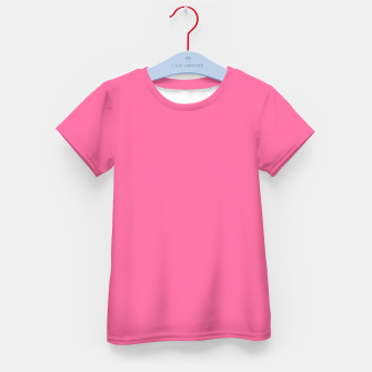 Thumbnail image of color French pink Kid's t-shirt, Live Heroes